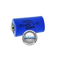1/2AA CR14250 1vnt Pkcell baterija elementas Vilnius | Kaunas | Palanga