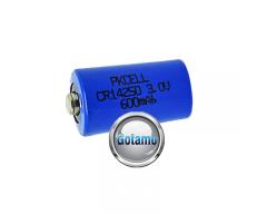 1/2AA CR14250 1vnt Pkcell baterija elementas