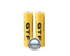 18650 2vnt GTF baterijos elementai 9800mAh įkraunamos