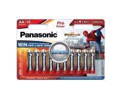 AA LR6 10vnt Panasonic Pro Power baterijos elementai