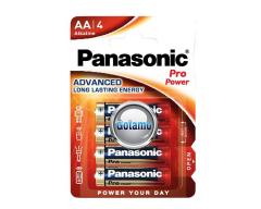 AA LR6 4vnt Panasonic Pro Power baterijos elementai