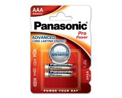 AAA LR03 2vnt Panasonic Pro Power baterijos elementai