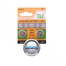 AG10 LR1130 1vnt T&E baterija elementas