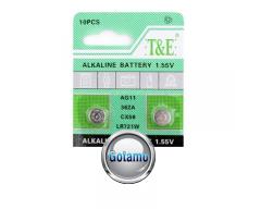 AG11 LR721 1vnt T&E baterija elementas