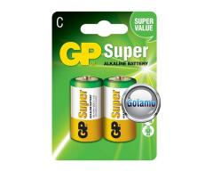 C LR14 2vnt GP Super baterijos elementai