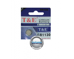 CR1130 1vnt T&E baterija elementas