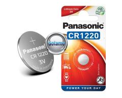 CR1220 1vnt Panasonic baterija elementas