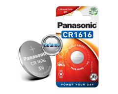 CR1616 1vnt Panasonic baterija elementas
