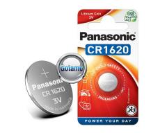 CR1620 1vnt Panasonic baterija elementas