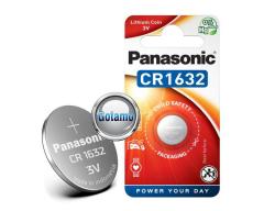 CR1632 1vnt Panasonic baterija elementas