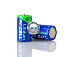 CR2 2vnt Pkcell baterijos elementai