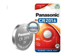 CR2016 1vnt Panasonic baterija elementas