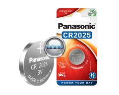 CR2025 1vnt Panasonic baterija elementas