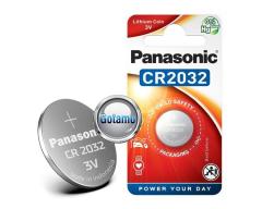 CR2032 1vnt Panasonic baterija elementas