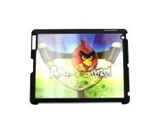 3D holograminis dėklas Apple iPad 2 3 4 planšetiniams kompiuteriams Angry Birds
