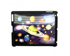 3D holograminis dėklas Apple iPad 2 3 4 planšetiniams kompiuteriams Planets