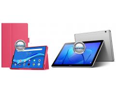 DENVER dėklas Huawei MediaPad T3 10 planšėtems tamsiai rožinės spalvos
