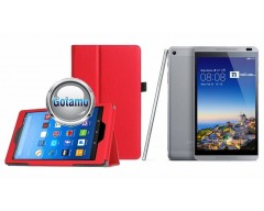DENVER dėklas Huawei MediaPad T3 8.0 planšėtems raudonos spalvos