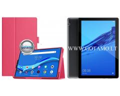 DENVER dėklas Huawei MediaPad T5 Huawei MediaPad M5 planšetėms tamsiai rožinės spalvos
