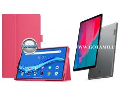 DENVER dėklas Lenovo M10 Plus Lenovo Tab M10 FHD Plus planšetėms tamsiai rožinės spalvos