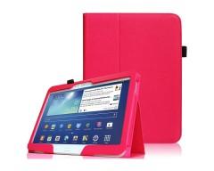 DENVER dėklas Samsung Galaxy Tab 3 10.1 planšetėms tamsiai rožinės spalvos