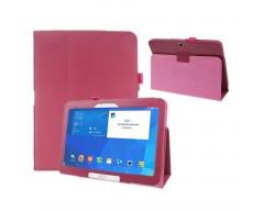 DENVER dėklas Samsung Galaxy Tab 4 10.1 planšetėms tamsiai rožinės spalvos