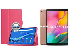 DENVER dėklas Samsung Galaxy Tab A 10.1 (2019) planšetėms tamsiai rožinės spalvos