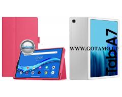 DENVER dėklas Samsung Galaxy Tab A7 10.4 (2020) planšetėms tamsiai rožinės spalvos