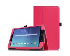 DENVER dėklas Samsung Galaxy Tab E 8.0 planšetėms tamsiai rožinės spalvos