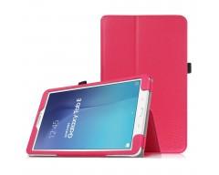 DENVER dėklas Samsung Galaxy Tab E 9.6 planšetėms tamsiai rožinės spalvos