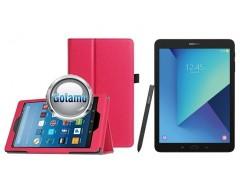 DENVER dėklas Samsung Galaxy Tab S3 9.7 planšėtems rožinės spalvos