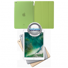 Di'stinct dėklas Apple iPad 9.7 (2017) planšetėms salotinės spalvos