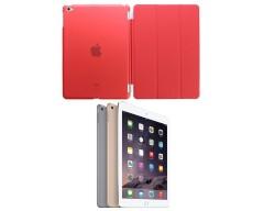 Di'stinct dėklas Apple iPad Air 2 planšetiniams kompiuteriams raudonos spalvos