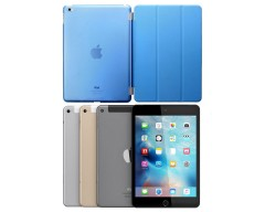 Di'stinct dėklas Apple iPad mini 4, Apple iPad mini 5 planšetiniams kompiuteriams žydros spalvos