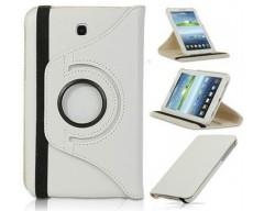 RIO dėklas Samsung Galaxy Tab 3 7.0 planšetėms baltos spalvos