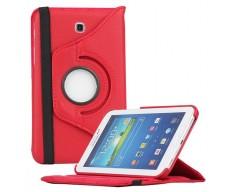 RIO dėklas Samsung Galaxy Tab 3 7.0 planšetėms raudonos spalvos