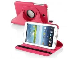 RIO dėklas Samsung Galaxy Tab 3 7.0 planšetėms rožinės spalvos