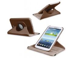 RIO dėklas Samsung Galaxy Tab 3 7.0 planšetėms rudos spalvos