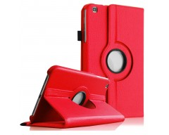 RIO dėklas Samsung Galaxy Tab 3 8.0 planšetėms raudonos spalvos
