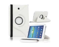 RIO dėklas Samsung Galaxy Tab 4 7.0 planšetėms baltos spalvos