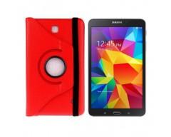 RIO dėklas Samsung Galaxy Tab 4 8.0 planšetėms raudonos spalvos