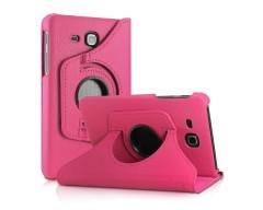 RIO dėklas Samsung Galaxy Tab A 7.0 (2016) planšetėms rožinės spalvos