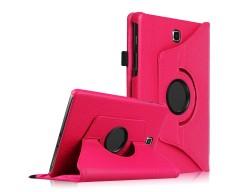 RIO dėklas Samsung Galaxy Tab A 8.0 planšetėms rožinės spalvos