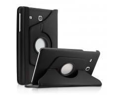 RIO dėklas Samsung Galaxy Tab E 8.0 planšetėms juodos spalvos