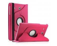 RIO dėklas Samsung Galaxy Tab E 8.0 planšetėms rožinės spalvos
