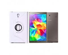 RIO dėklas Samsung Galaxy Tab S 8.4 planšetėms baltos spalvos