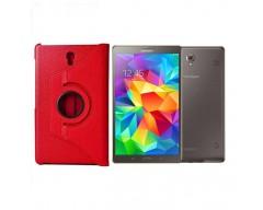 RIO dėklas Samsung Galaxy Tab S 8.4 planšetėms raudonos spalvos
