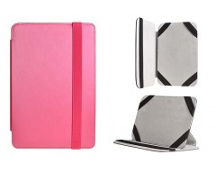Ultra 10.1 universalus dėklas planšetiniams kompiuteriams rožinės spalvos