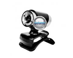 Kompiuterio kamera Webcam 1280 x 720 JetView juodos spalvos