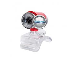 Kompiuterio kamera Webcam 1280 x 720 JetView raudonos spalvos